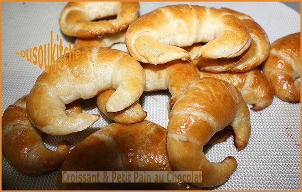 Croissant &Petit pain au chocolat on vidéo - Sousoukitchen English ...