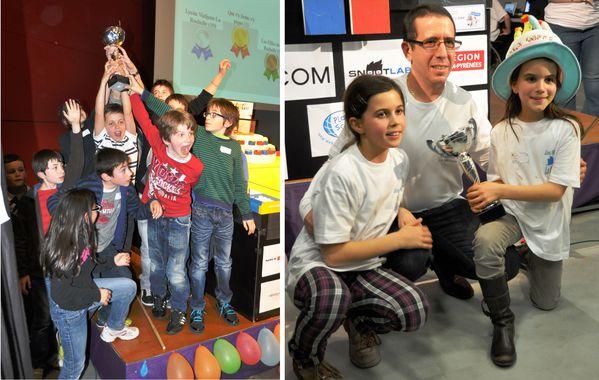 Trophées de robotique - 2013 - Toulouse - Remise des prix