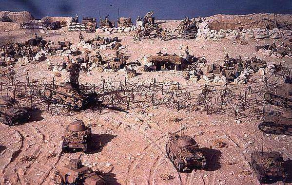guerre du désert el alamein