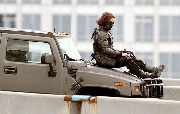 Captain America 2 Le Soldat de l'Hiver - Photo Tournage 08