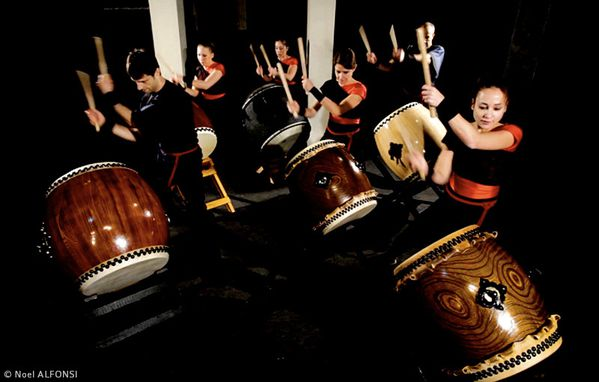Paris Taiko Ensemble 01