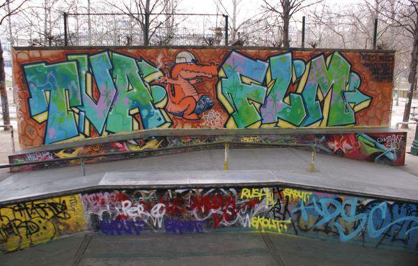 4842 skatepark Bercy 75012 Paris