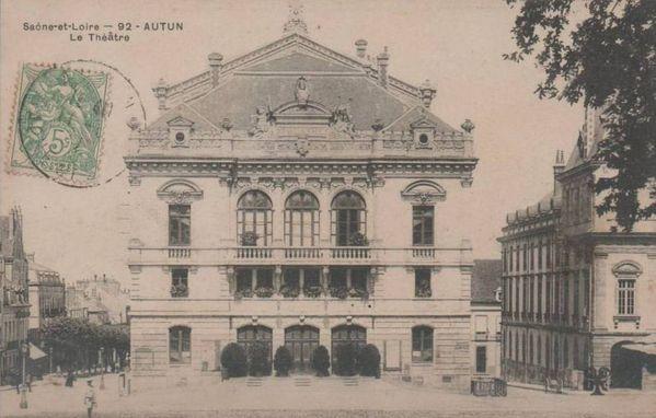 AUTUN 20n - Le Théâtre