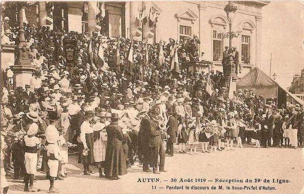 AUTUN 21 - 30 Août 1919 01