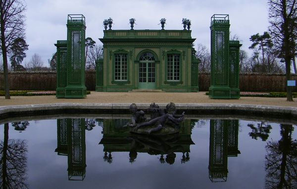 307 The French Garden, Petit Trianon, Versailles