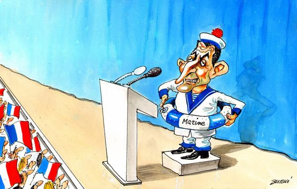Sarkozy-Marine