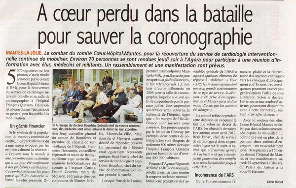 article lecourrierdemanteshopital