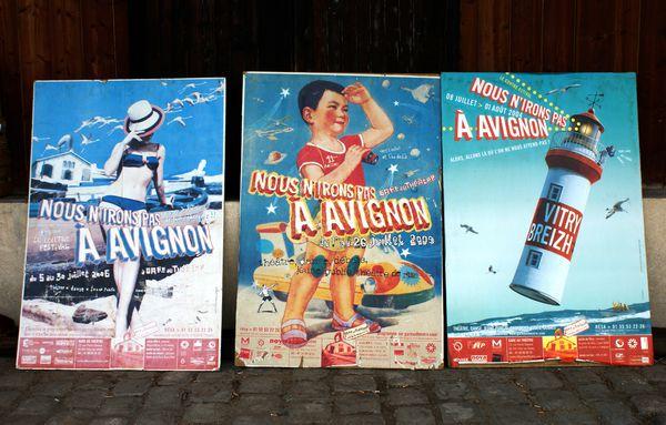 001 affiche gare au theatre 94400 Vitry sur seine