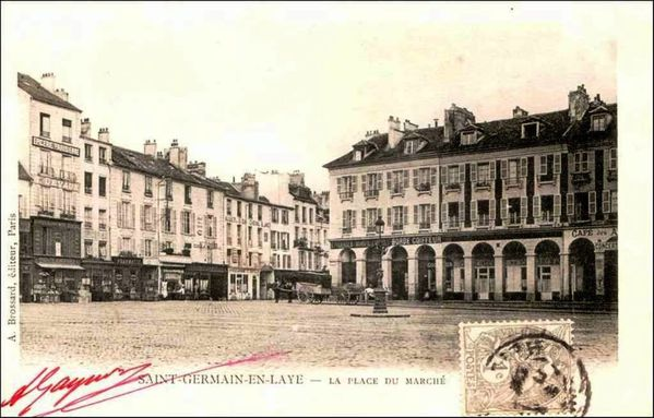 La place arcades place du march neuf saint germain en laye 78100 les commerces de - La poste st germain en laye ...