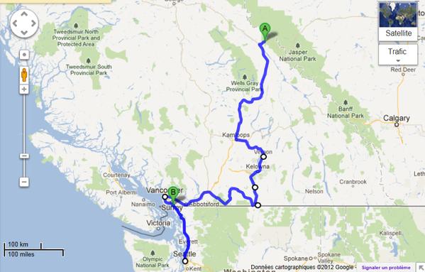 map okanagan-vancouver