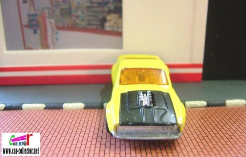 boss mustang yellow superfast matchbox
