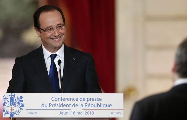 Francois-Hollande-deuxième-conférence-de-presse