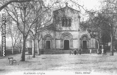 cartes-postales-photos-l-Eglise-FLASSANS-SUR-ISSOLE-83340-8