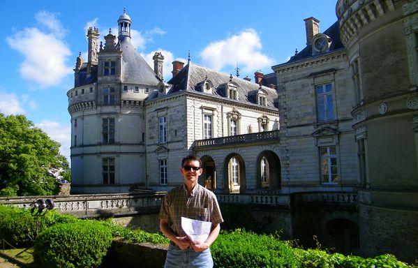 1304 West façade, Château du Lude