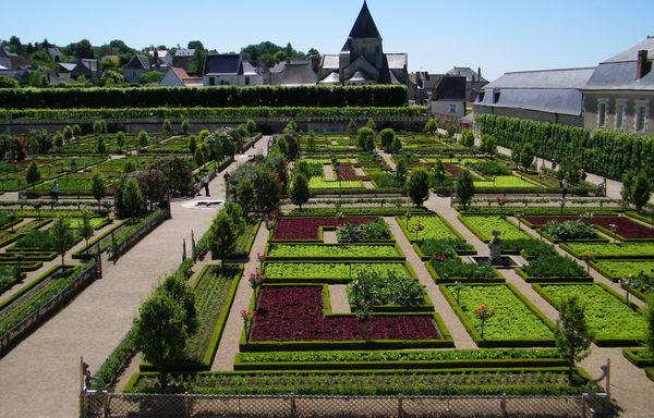 1510 Jardin et Château de Villandry