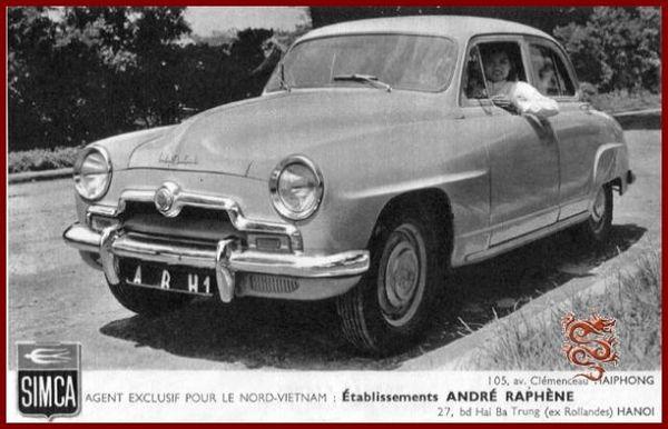 Simca Aronde Hanoi-1954