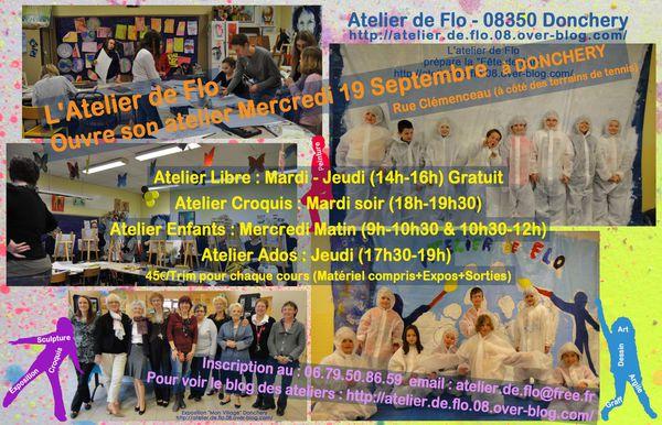 Rentrée-Peinture-Atelier de Flo-2012-2013-Donchery-Ardennes