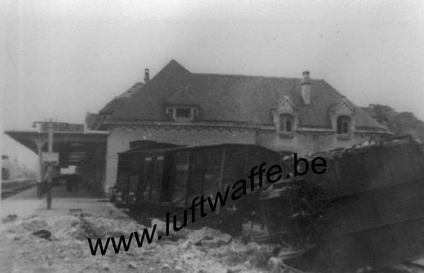 Occupation gare 1940