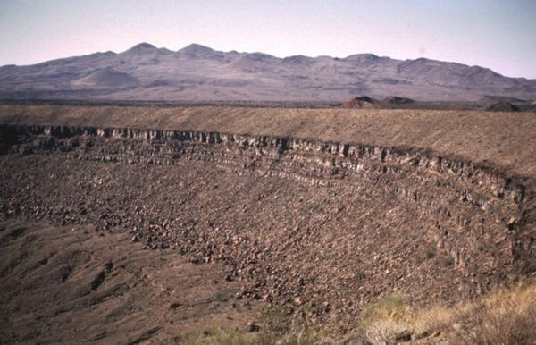 Pinacate cr.Elegante et Santa Clara shield volc.- Bill rose
