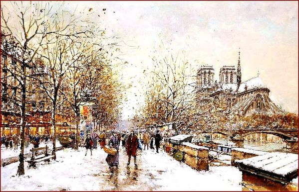 blanchard winter in paris notre dame2