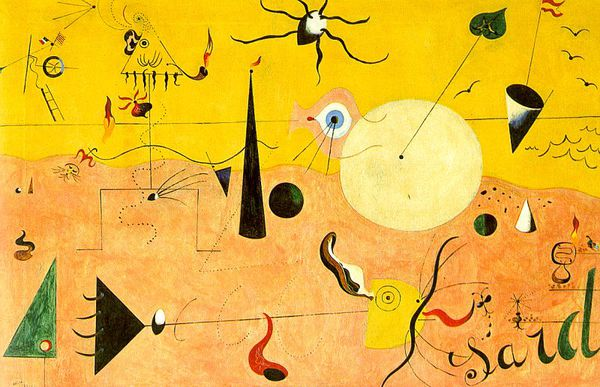 Miro Catalan LandscapeThe Hunter