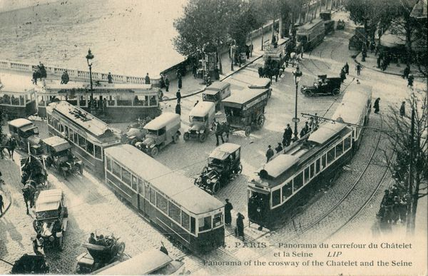 copie paris tram 1910 a