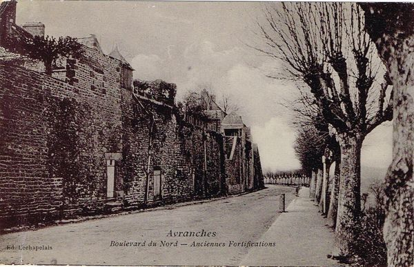 Boulevard du Nord anciennes fortifications