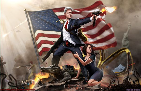 bill clinton the lady killer by sharpwriter-d5wx11h