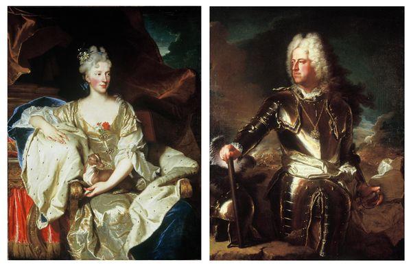 duc et duchesse de Mantoue
