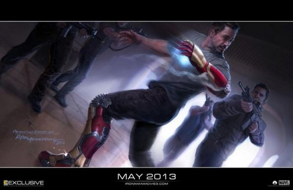 Iron Man 3 Concept Art