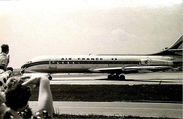 Caravelle Air France 1963-07-07