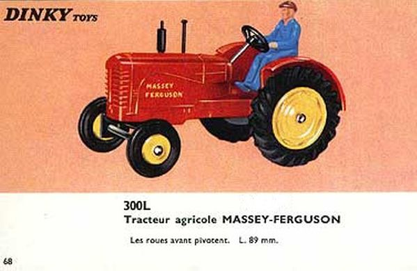 catalogue dinky toys 1966 p68 tracteur agricole massey ferg