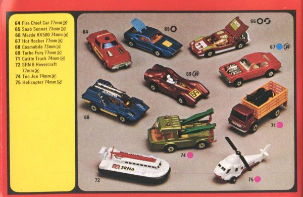catalogue matchbox 1977 p12