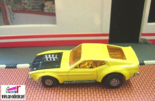 boss mustang yellow superfast matchbox (1)