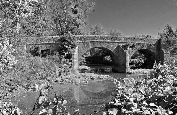 La Ligne de l'Yerres, le pont BRUNE ( 1710 ) Photo Didier S