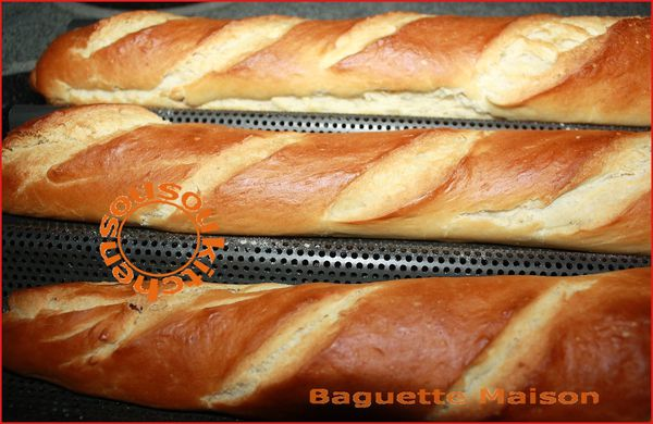 Pain Baguette Maison (4)