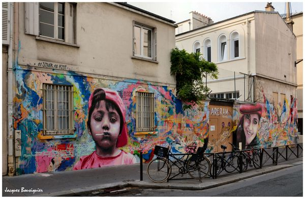 Street Art ARERAM Paris 10 Rue Jacques Louvel-Tessier 1
