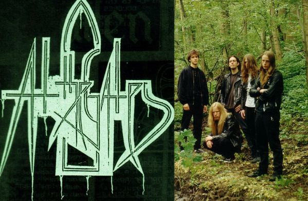 At The Gates - Logo & Line-up
