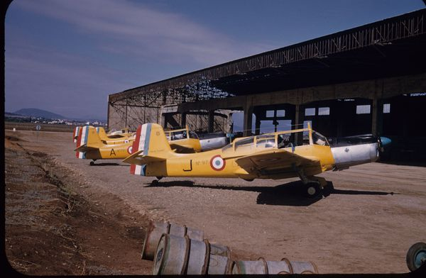 Photo 2 1956 - Guelma L-escadrille 5-70 -6 MS 733Photo Maur