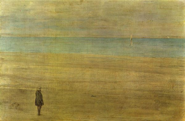 James Whistler harmonie en or et bleue