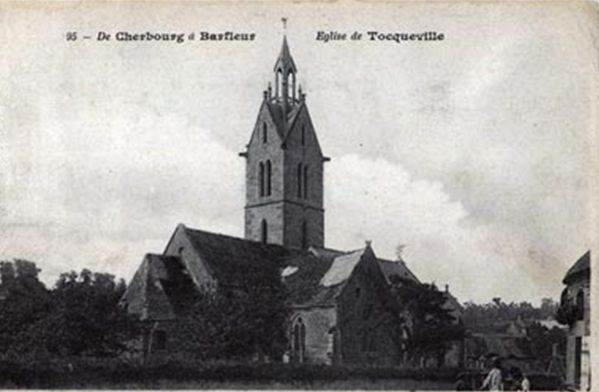 050 L'église Saint-Laurent, Tocqueville