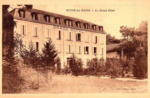 Le grand hôtel où Julien a travaillé et rencontré sa fu