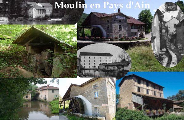 MOULIN EN PAYS D'AIN