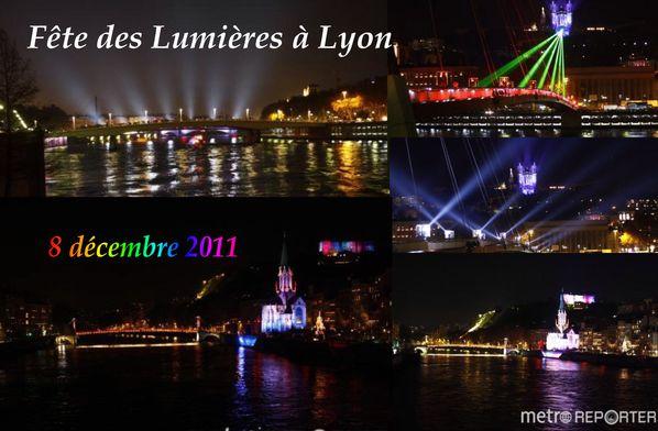 FÊTE DES LUMIÈRES 4 LYON 08.12.2011