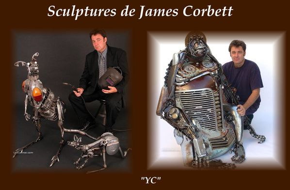 SCULPTURES DE JAMES CORBETT