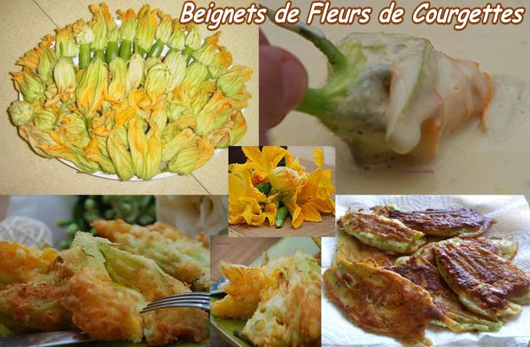 beignets de fleurs de courgettes pour accompagner divers plats y c 01. Black Bedroom Furniture Sets. Home Design Ideas