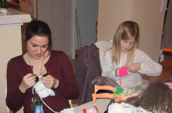 famille 4029 Atelier tricot.