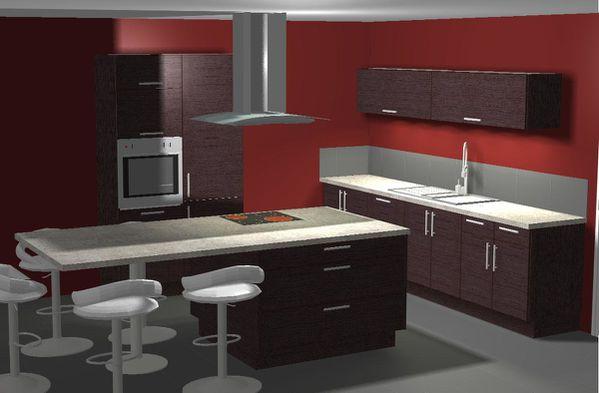 cuisine choisie cuisinella. Black Bedroom Furniture Sets. Home Design Ideas