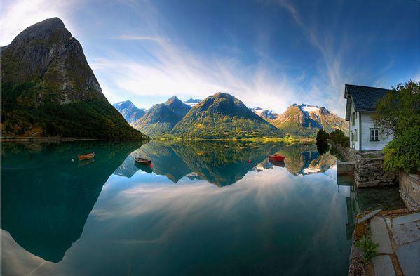 Norvege-paysage-lac