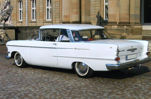 Opel Kapitan coupé 1962 ar